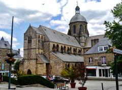 Eglise Saint-Nicolas - Deutsch: Kirche St. Nikolaus, Coutances, Départment Manche, Region Normandie (ehemals Nieder-Normandie), Frankreich