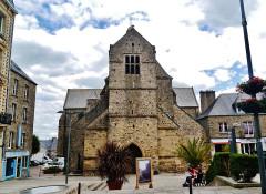 Eglise Saint-Nicolas - Deutsch: Fassade der Kirche St. Nikolaus, Coutances, Départment Manche, Region Normandie (ehemals Nieder-Normandie), Frankreich