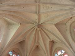 Chapelle Notre-Dame-de-Pitié - Français:   Chapelle Notre-Dame-de-Pitié de Longny-au-Perche (61). Intérieur. Voûtes du chœur.