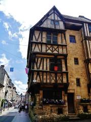 Maison - Deutsch: Fachwerkhaus, Bayeux, Département Calvados, Region Normandie (ehemals Nieder-Normandie), Frankreich