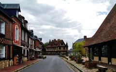 Manoir - Deutsch:   Herrenhaus Beuvron-en-Auge, Beuvron-en-Auge, Départment Calvados, Region Normandie (ehemals Nieder-Normandie), Frankreich