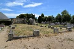 Restes de l'église - Français:   Bréville-les-Monts (14)