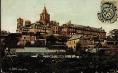 Maison, dans la cour du Musée des Antiquaires de Normandie -  Caen, Hotel Dieu