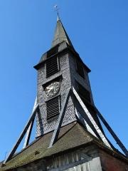 Eglise Sainte-Catherine - Français:   clocher, Église Sainte-Catherine, Honfleur