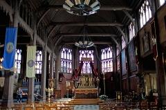 Eglise Sainte-Catherine - Français:   nef et coeur du XVIe siècle, Eglise Sainte Catherine, Honfleur