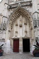 Eglise Saint-Léonard - Français:   Eglise St Léonard: Portail