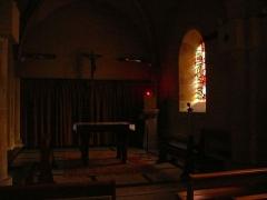 Eglise - Église Saint-Sauveur de Thury-Harcourt (Calvados, Normandie, France).