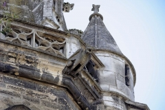 Eglise Saint-Philibert - Gargouille de l'Église Saint-Philibert, à Dijon (Côte d'Or, Bourgogne, France).