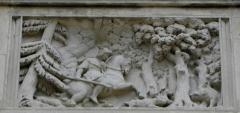 Palais Ducal - Palais ducal de Nevers (58). Bas-relief.