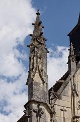 Eglise -  L\'église Saint-Pierre-du-Trépas à Saint-Père dans la Nièvre.