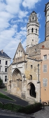 Cathédrale Saint-Vincent - Deutsch:   Kathedrale Vieux Saint-Vincent in Macôn, (France )
