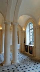 Domaine de Tanlay - Français:   Salle des Césars, Château de Tanlay