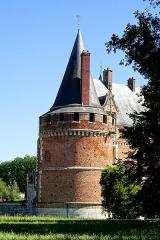 Château - Français:   Château du Plessis-Brion - voir le titre du fichier.