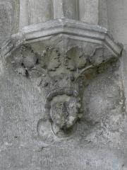 Ancienne abbaye de Saint-Jean-des-Vignes - Cloître de l'abbaye Saint-Jean-des-Vignes de Soissons (02).