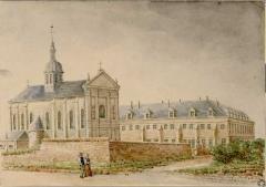Eglise Saint-Acheul - English:   Church and abbey of Saint-Acheul, Amiens, France