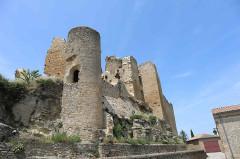 Château (restes) - English: Castle ruins Chabrillan