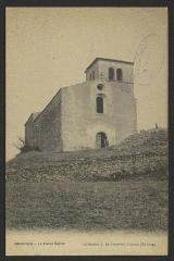 Eglise Sainte-Foy (ruines) - English: CA 1900