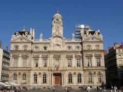 Hôtel de ville - English: The city hall in Lyon (Rhône, Auvergne-Rhône-Alpes, France).