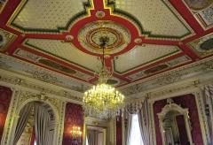 Hôtel de ville - Plafond des Salons rouges.