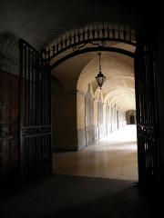 Hôtel-Dieu - Français:   Galerie du Cloître ou de la Cour d\'Honneur de l\'Hôtel-Dieu de Lyon (69).
