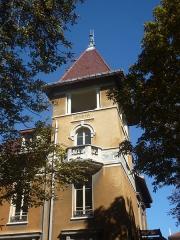 Demeure dite villa Marius Berliet - Villa Berliet dans le 3e arrondissement de Lyon. Inscrit au titre des monuments historiques