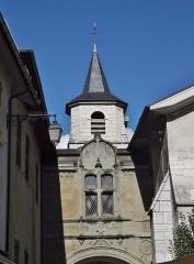 Cathédrale Saint-François de Sales - English: Sight of the bell tower of the Saint-François de Sales cathedral of Chambéry, Savoie, France.