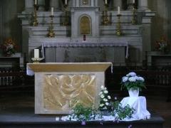 Eglise - English: Saint-Jacques-le-Majeur's church of Sallanches (Haute-Savoie, Rhône-Alpes, France).