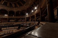Théâtre des Bouffes du Nord - English:   interior of the Théâtre des Bouffes du Nord, in Paris