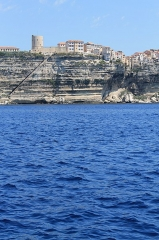 Escalier du roi d'Aragon -  Off the coast of bonifacio