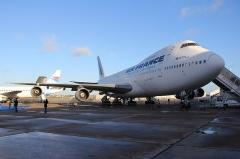 Aérogare du Bourget -  Boeing 747-100