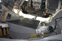 Aérogare du Bourget -  Boeing 747-100 Flight Deck
