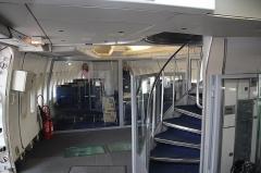 Aérogare du Bourget -  Boeing 747-100 Interior