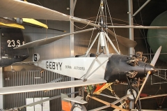 Aérogare du Bourget -  Cierva Autogiro C.8L