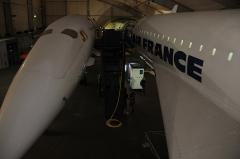 Aérogare du Bourget -  Concorde 001 (F-WTSS) and Concorde 213 (F-BTSD)