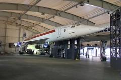 Aérogare du Bourget -  Concorde 001 F-WTSS