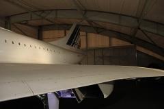 Aérogare du Bourget -  Concorde 213 F-BTSD