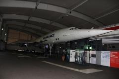 Aérogare du Bourget -  Concorde F-BTSD