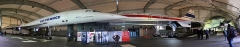 Aérogare du Bourget -  Concorde F-BTSD (213) and Concorde Prototype 001
