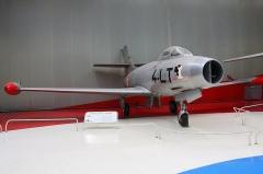 Aérogare du Bourget -  Dassault MD-450 Ouragan
