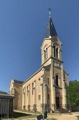 Eglise Sainte-Euphémie - Français:   Église Sainte-Euphémie de Sainte-Euphémie, Ain.