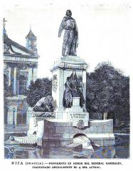 Monument à Garibaldi - Spanish engraver