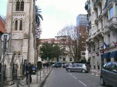 Temple Saint-Esprit, ancienne église épisocpalienne américaine Holy Spirit Church -  Nice-Quartier des Musiciens   Rue Maccarani