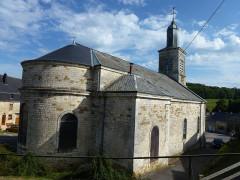 Eglise Saint-Martin - English: Aubigny-les-Pothées (Ardennes) église, chevet