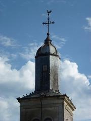 Eglise Saint-Martin - English: Aubigny-les-Pothées (Ardennes) église, sommet de la tour
