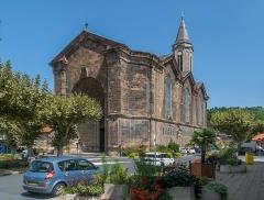 Eglise paroissiale Notre-Dame - English: Our Lady Church of Decazeville, Aveyron, France