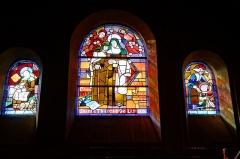 Eglise du Sacré-Coeur : l'église ; les façades et toitures du presbytère, de l'ancienne cité paroissiale, actuel centre universitaire catholique, et la clôture de ces bâtiments (cad. AV 222, 223) : inscription par arrêté du 2 août 2012 - Français:   Église du Sacré-Cœur, (Dijon, Côte d\'Or, Bourgogne, France).