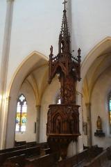 Eglise - Français:   Chaire de l\'église de Saint-Point-Lac