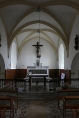Eglise - Français:   Intérieur de l\'église de Saint-Point-Lac