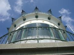 Phares de la pointe de Penmarc'h - English:   Eckmühl lighthouse\'s lantern.