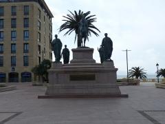 Monument commémoratif Napoléon 1er et ses frères - Deutsch:   Ajaccio Monument à Napoléon Ier et ses frères